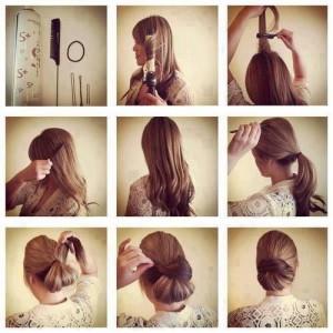 Evde Kolaylıkla Yapabileceğiniz Saç Modelleri